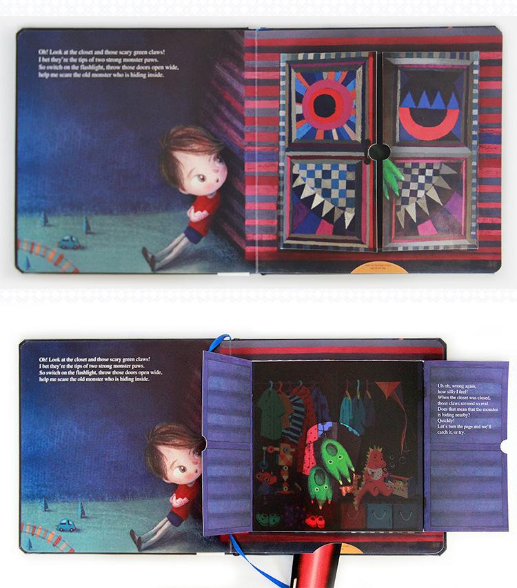 儿童启蒙发声读物-英文绘本 Where s That Monster -绘本详情2