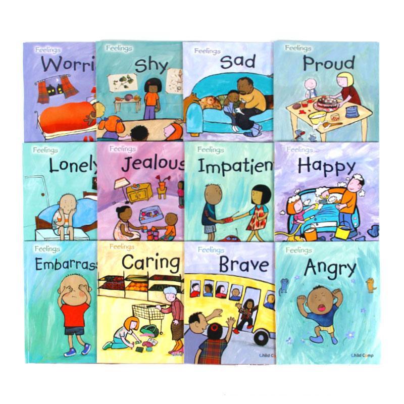 学立佳幼儿启蒙有声读物-我的感觉(绘本展示)