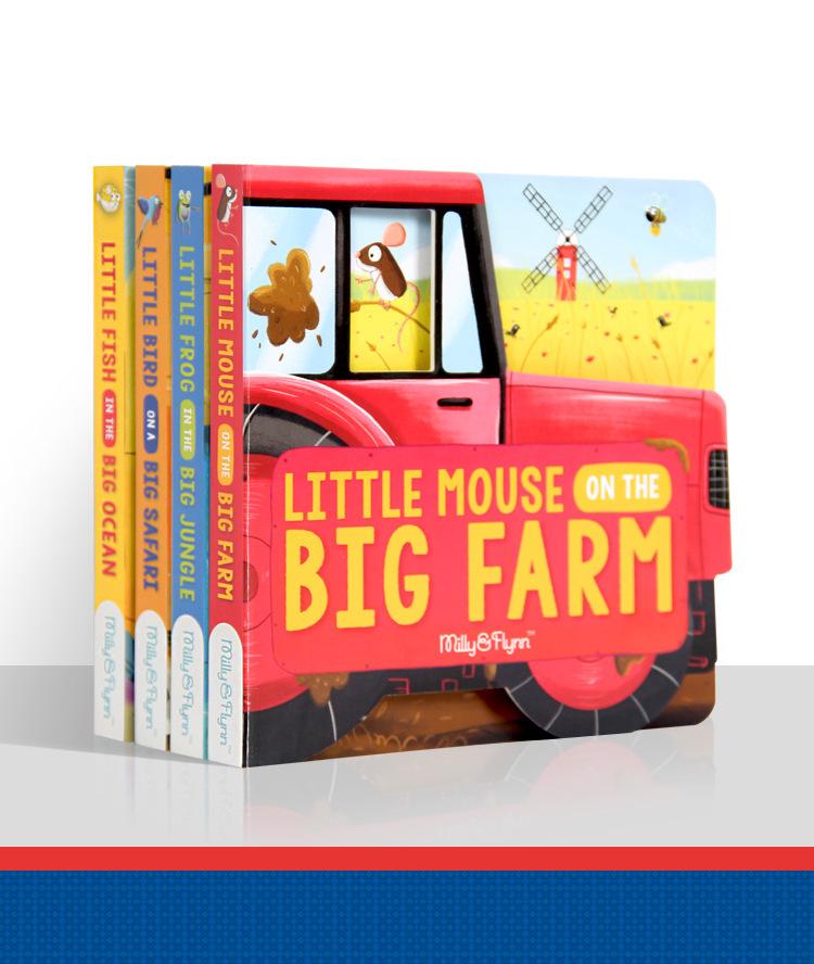 点读笔套装-英语启蒙绘本-儿童睡前故事-Little creature绘本