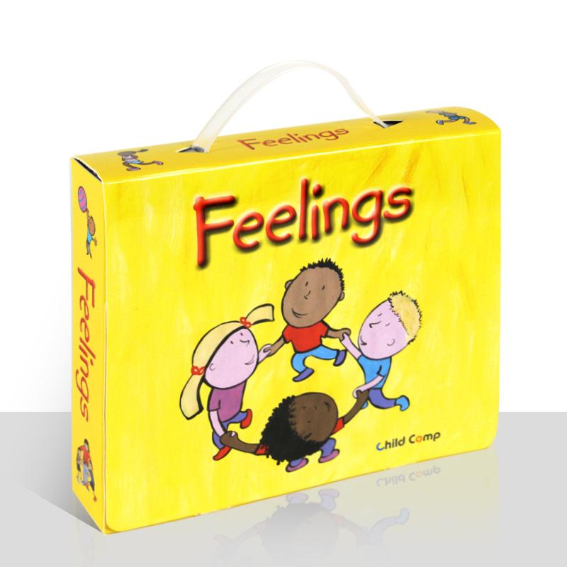 学立佳幼儿启蒙有声读物-我的感觉 Feelings(12册)