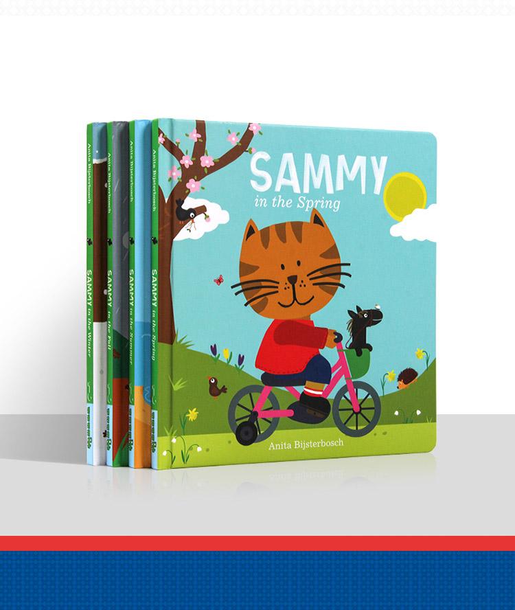 英语启蒙绘本-小猫塞米爱四季